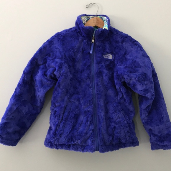 49a855d3dec7 North face girls reversible mossbud swirl jacket M.  M 5b059dae3afbbd10bdcc85d4
